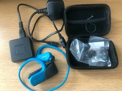 Sony NW Ws413 Waterproof Mp3 Player 8 GB Black (used twice)