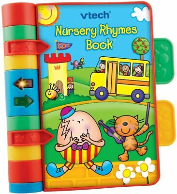 Baby Nursery Rhymes Book Light Interactive Musical Baby Book