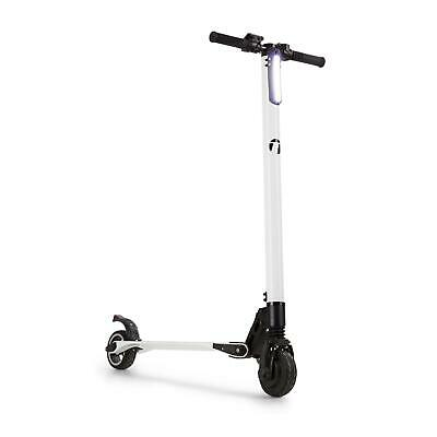 E Electric Scooter Carbon Frame LED Light Kids Toy 250 W