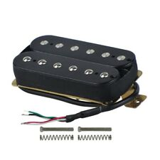 Electric Guitar Humbucker Pickups Neck Alnico V Pickup Black