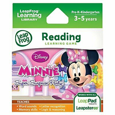 Leapfrog Explorer Learning Game Disney Minnie's Bow-Tique