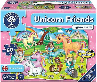 Orchard Toys UNICORN FRIENDS Educational Toy Game BNIP