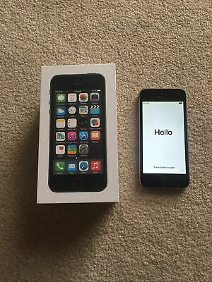 Apple iPhone 5s - 16GB - Space Grey (O2) A (GSM)