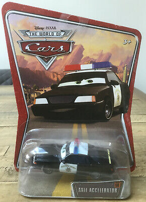 Disney Pixar Cars Axle Accelerator Highway Patrol #58 New