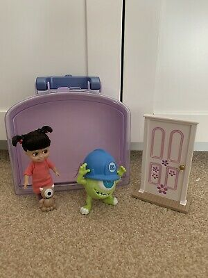 Disney Store Boo Monsters Inc Mini Animator Doll Carry Case