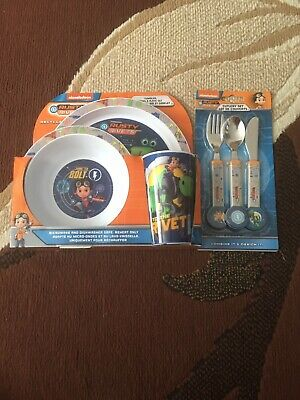 Nickelodeon Rusty Rivets - 6 Piece Tableware and Cutlery Set