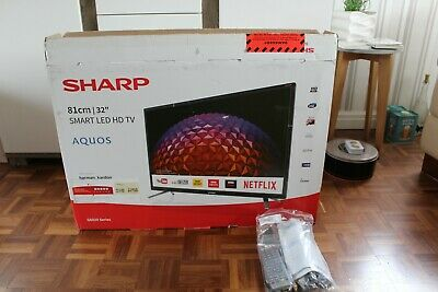 """Sharp 32"""" Smart LED TV HD Ready with Freeview HD -"""