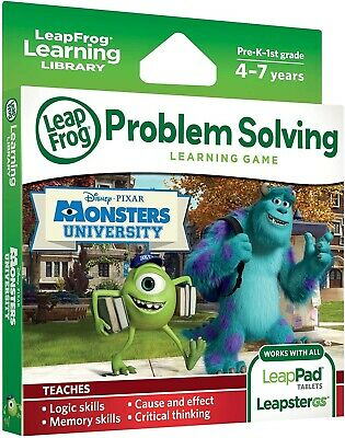 Leapfrog Explorer Learning Game Disney Pixars Monsters
