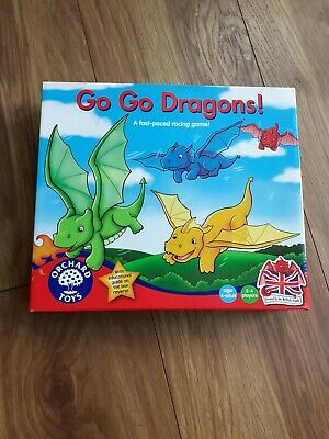 Orchard Toys Go Go Dragons Game Complete Excellent Condition