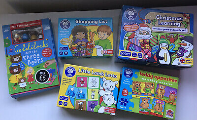 Orchard Toys Learning game Christmas Surprises. Orchard Toy