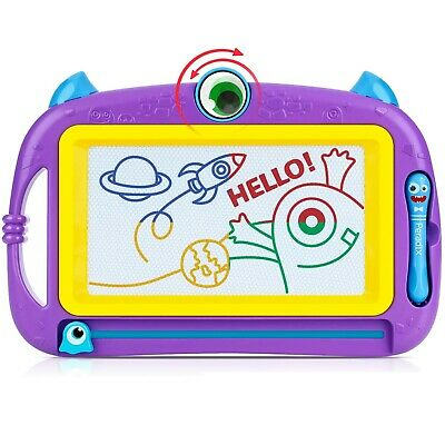 Peradix Magnetic Drawing Doodle Board with 2 Magnetic Pens