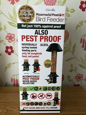 PestOff Hanging Squirrel Proof Sunflower Mixed Seed Wild