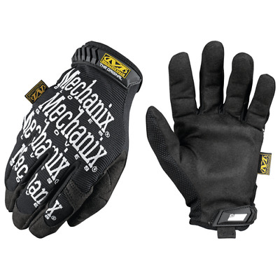 Mechanix Wear Original TrekDry Gloves Black Size Men's 2XL