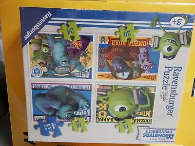 Monsters University 4 In A Box Ravensburger Jigsaw Puzzle