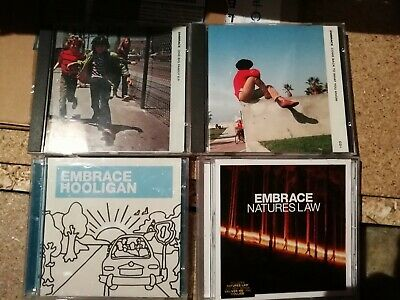 Embrace ep cd and 3 cd singles