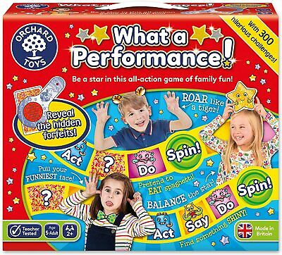 Orchard Toys What a Performance! Game Multicoloured
