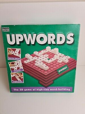 Upwords Great Fun But Educational Game - Parker - Board
