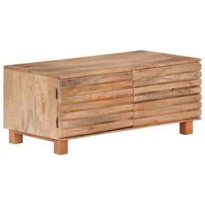 vidaXL Solid Mango Wood Coffee Table Wooden Accent Side End
