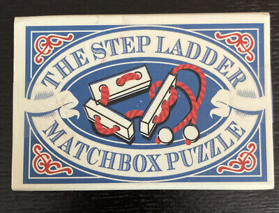 Matchbox puzzle - Matchbox game - stocking filler - The Step