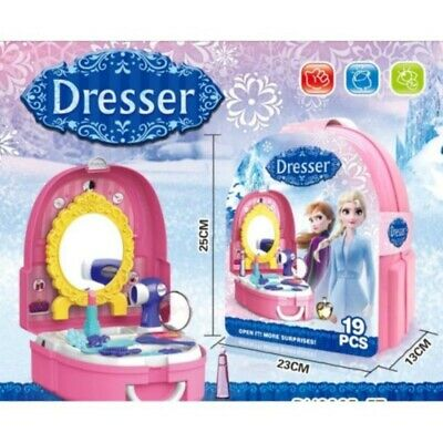 Disney Frozen Dresser Toy Kids Girls Role Play with