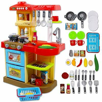 Little Chef Kitchen Play Set with 30 Accessories