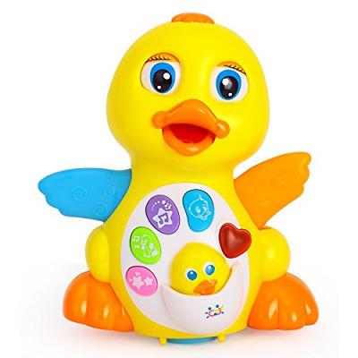 Early Education 18 Months Old Baby Toy Musical Dancing Duck