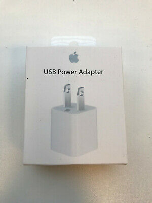 Brand New In Wrapper Apple American USA USB Wall Charger