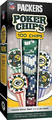 Green Bay Packers Poker Chips, 100pc