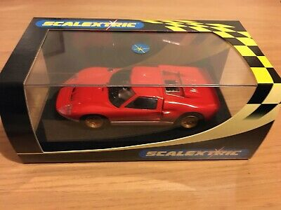 C Scalextric Ford GT40 Mk2 Collectors Club , Red
