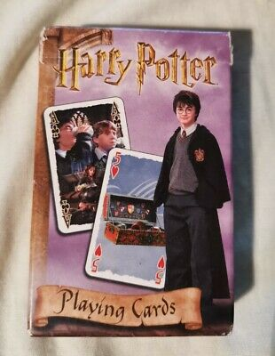 Harry potter playing cards Chamber Of Secrets Carta Mundi