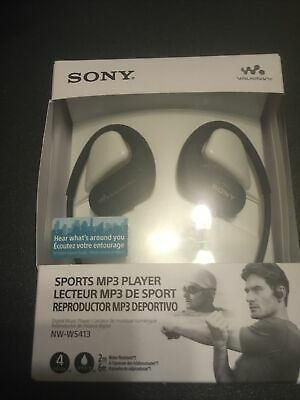 Sony NW Ws413 Waterproof Mp3 Player 4 GB Black