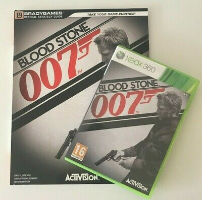 Xbox 360 Blood stone 007 & Strategy Guide