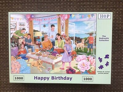 House of Puzzles  Piece Jigsaw Puzzle 'Happy Birthday