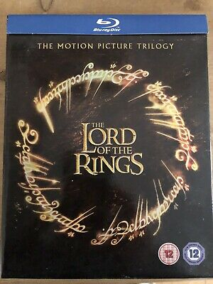 The Lord Of The Rings Trilogy (Blu-ray, -Disc Set,