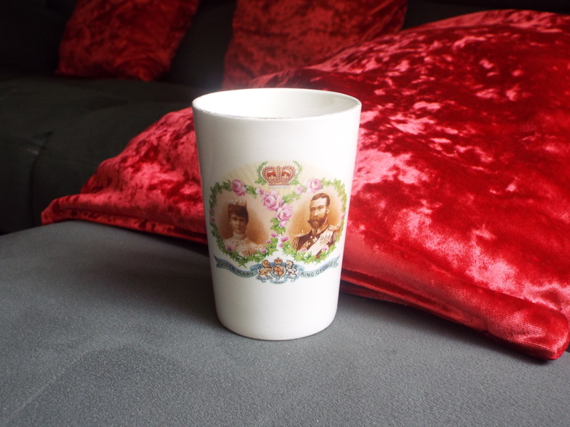 King George V & Queen Mary Tumbler