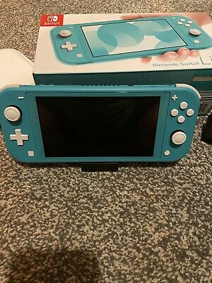 Nintendo Switch Lite Console - Turquoise with Mario Kart And