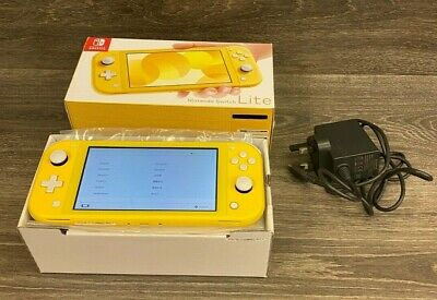 Nintendo Switch Lite Console - Yellow Boxed