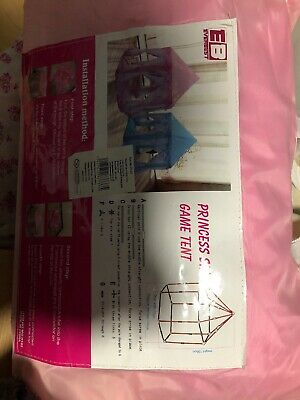 Girls Princess Pop Up Castle Play Tent Girls Playhouse Toy