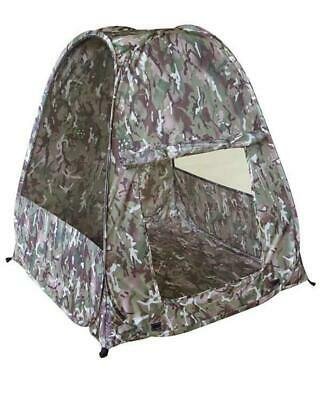 Military Army Style Kids Pop Up Play Tent BTP Woodland Camo