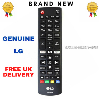 New Genuine LG AKB Remote Control - LED TV With