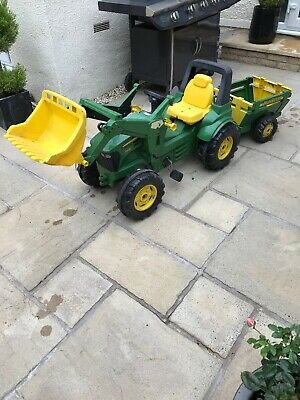John Deere Kids Pedal  Tractor With Front Loader And