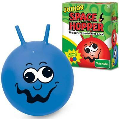 Tobar Junior Space Hopper Blue Inflatable Kids Toy Outdoor
