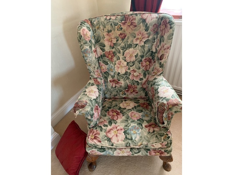 Armchair for Upholstery Project