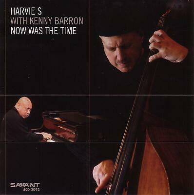S HARVIE & KENNY BARRON - Now Was the Time