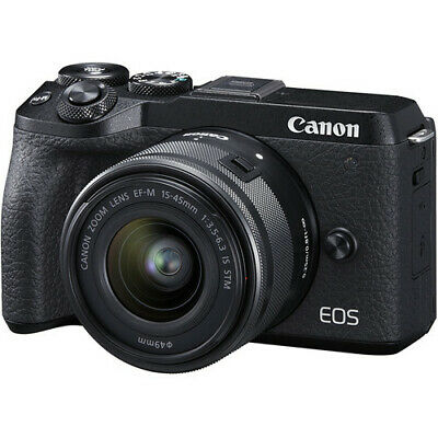 Canon EOS M6 II mm IS STM Black (Multi) ship from EU