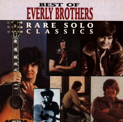 EVERLY BROTHERS-RARE SOLO CLASSICS (US IMPORT) CD NEW
