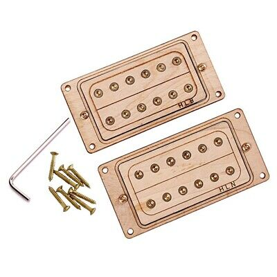 Maple Wood 6-String Humbucker Pickups for Electric Guitar