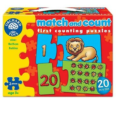 Orchard Toys Match and Count Activity Jigsaw Puzzle,