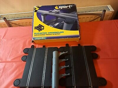 Scalextric C Sport Track Elevated Crossover Bridge used