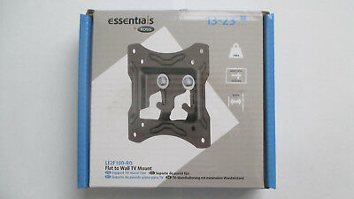 """ESSENTIALS TV Mount Flat To Wall """""""